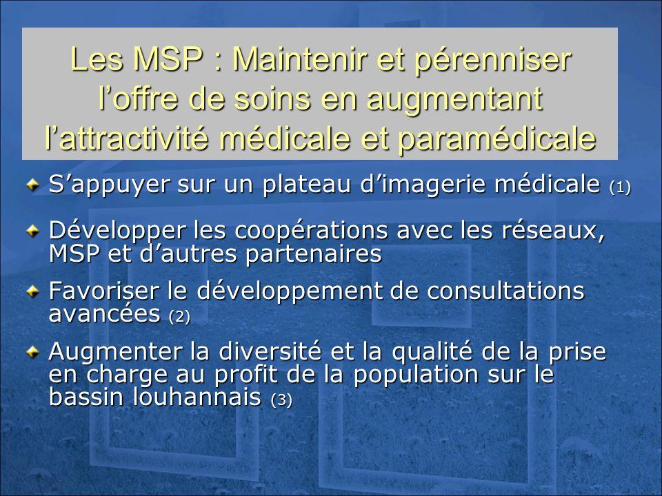 Les MSP : Maintenir et pérenniser l'offre de soins en augmentant l'attractivité médicale et paramédicale
