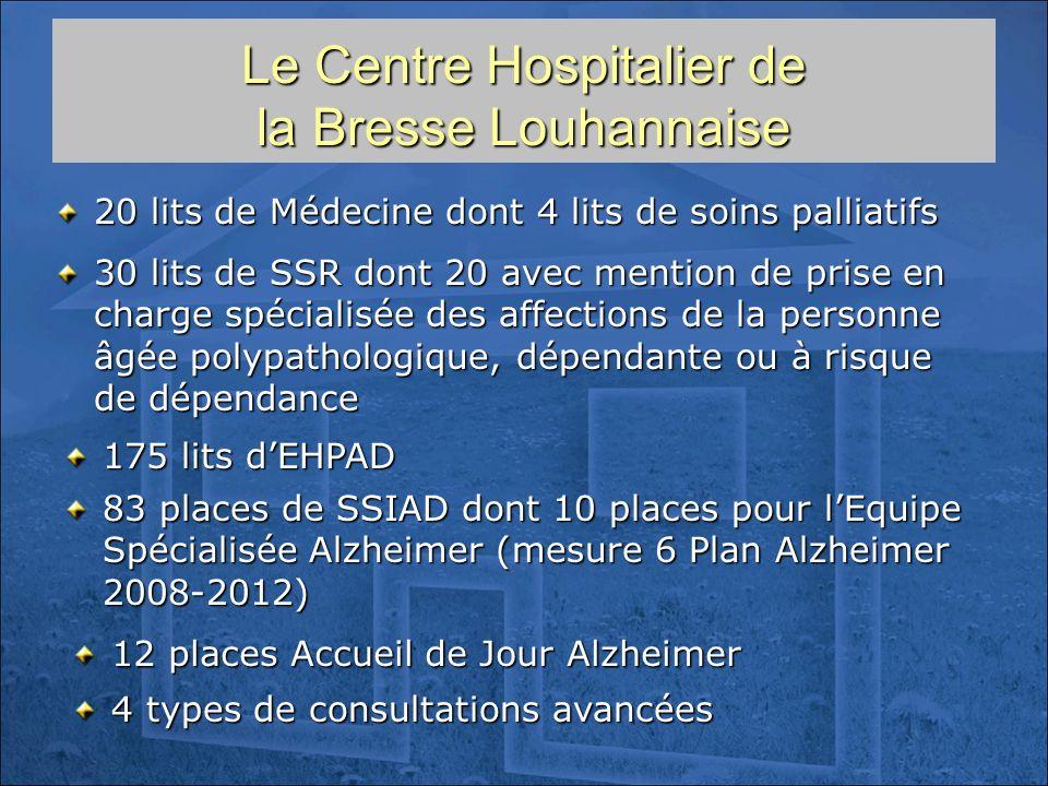 Le Centre Hospitalier de la Bresse Louhannaise