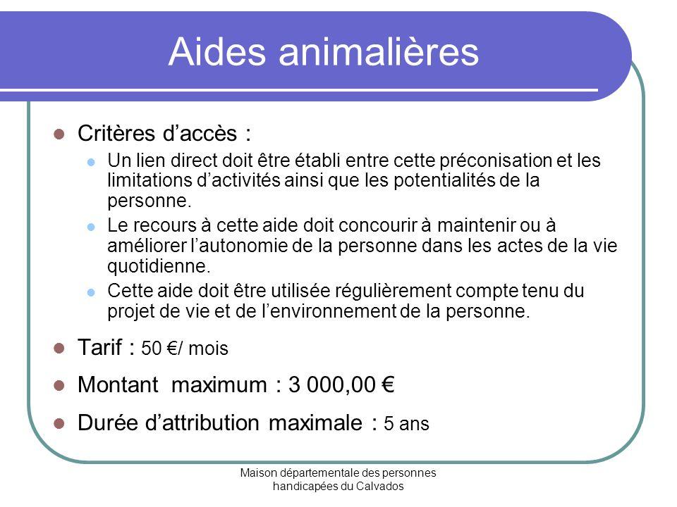Maison départementale des personnes handicapées du Calvados