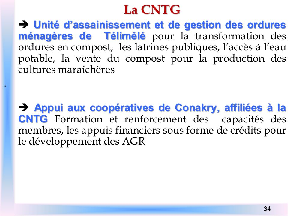 La CNTG