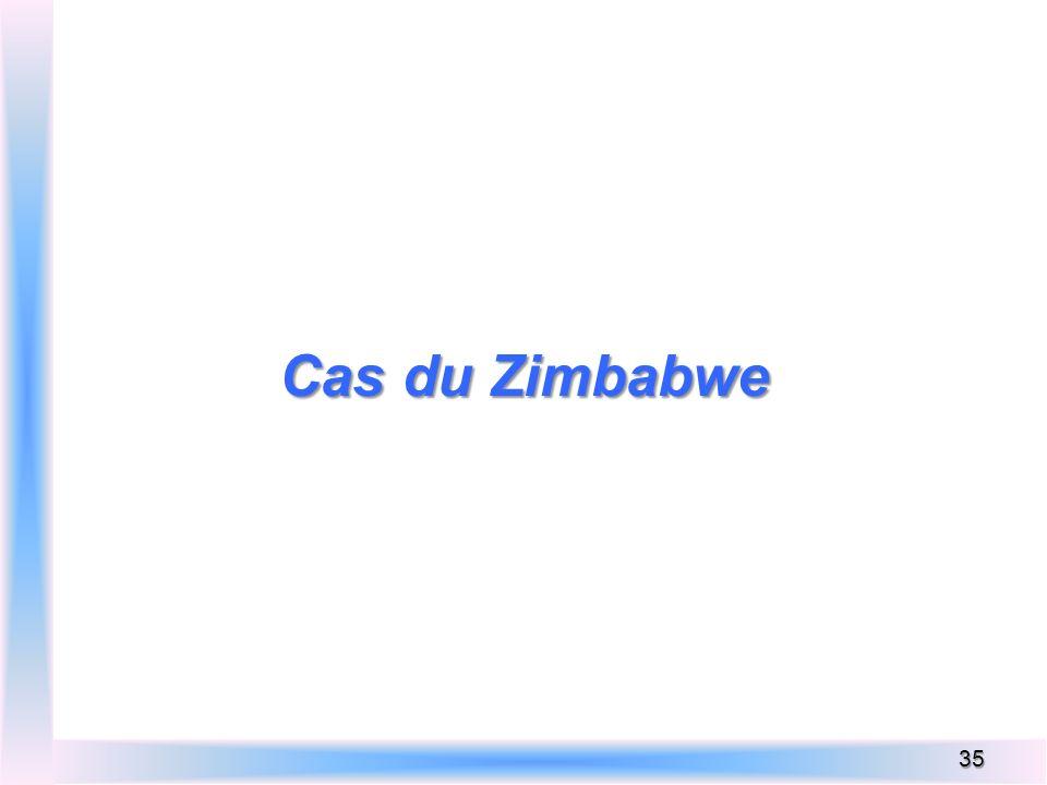 Cas du Zimbabwe