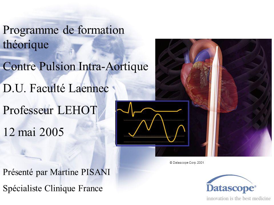 Programme de formation théorique Contre Pulsion Intra-Aortique