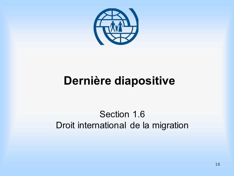 Droit international de la migration