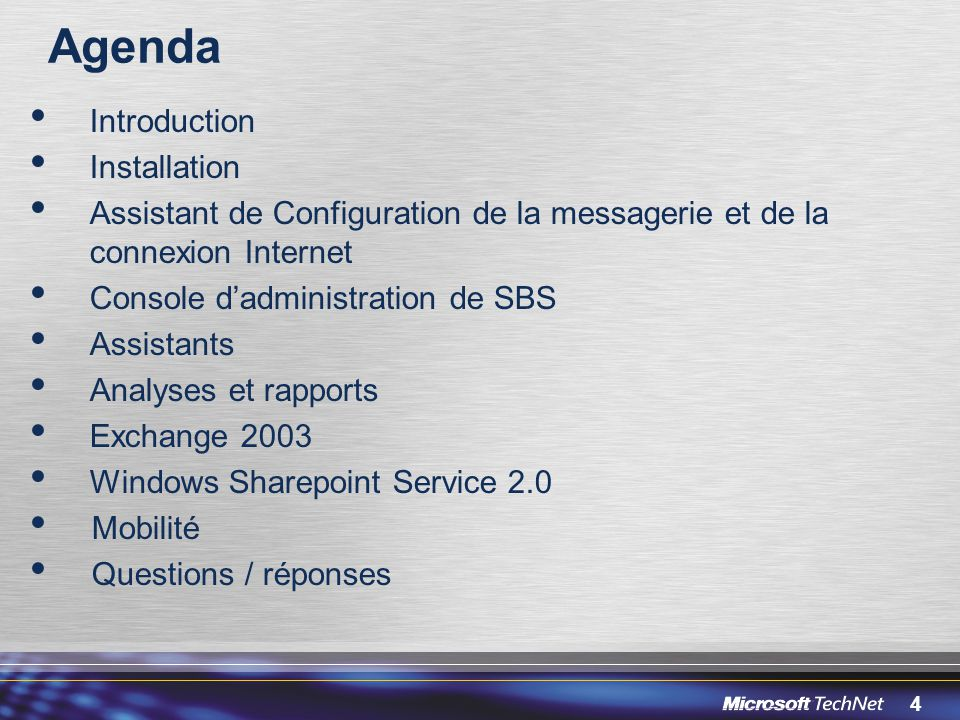 Agenda Introduction Installation