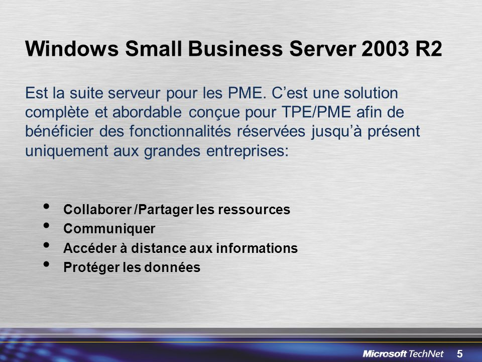 Windows Small Business Server 2003 R2