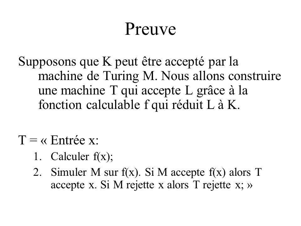 Preuve