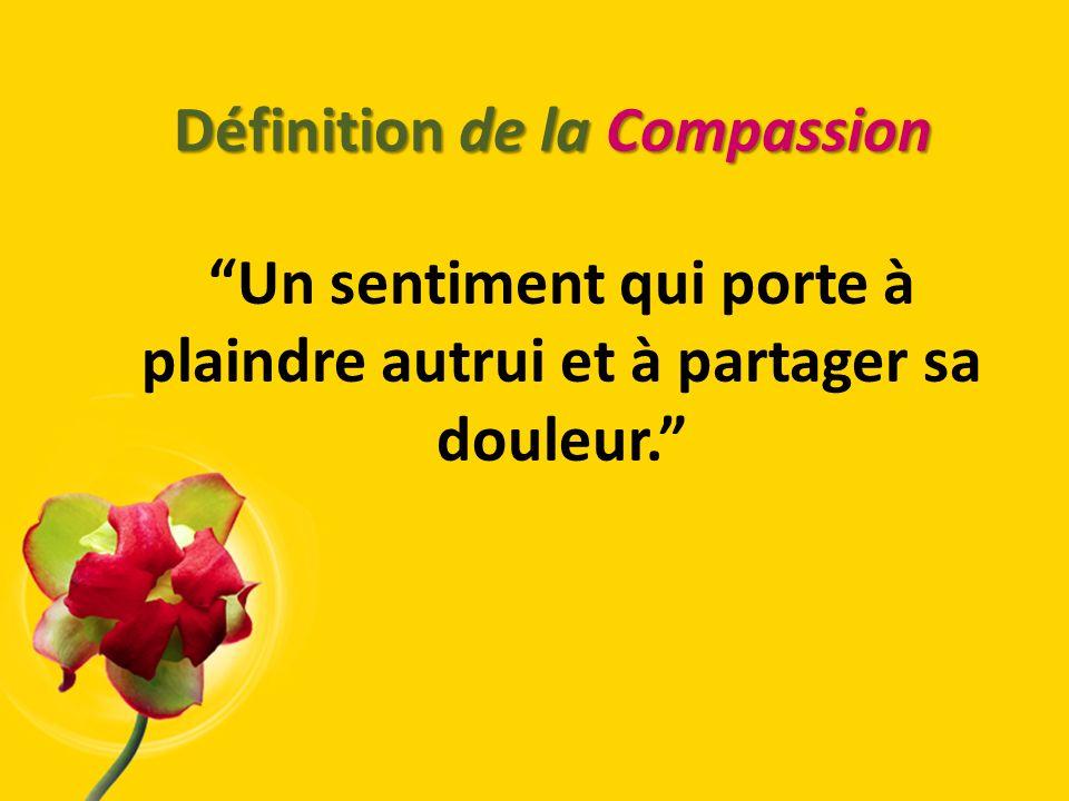 Définition de la Compassion