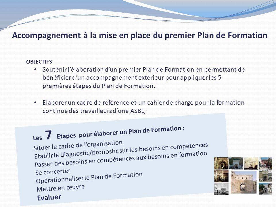 Accompagnement à la mise en place du premier Plan de Formation