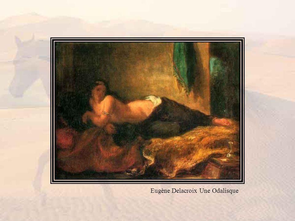 Eugène Delacroix Une Odalisque