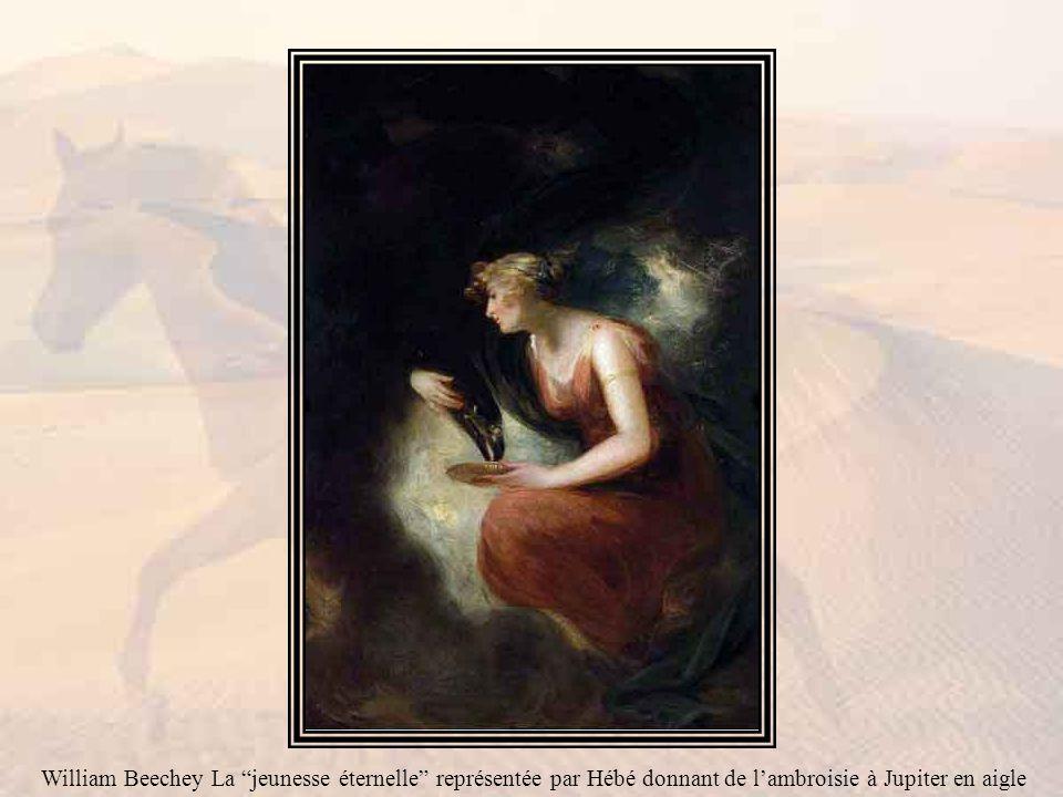 William Beechey La jeunesse éternelle représentée par Hébé donnant de l'ambroisie à Jupiter en aigle