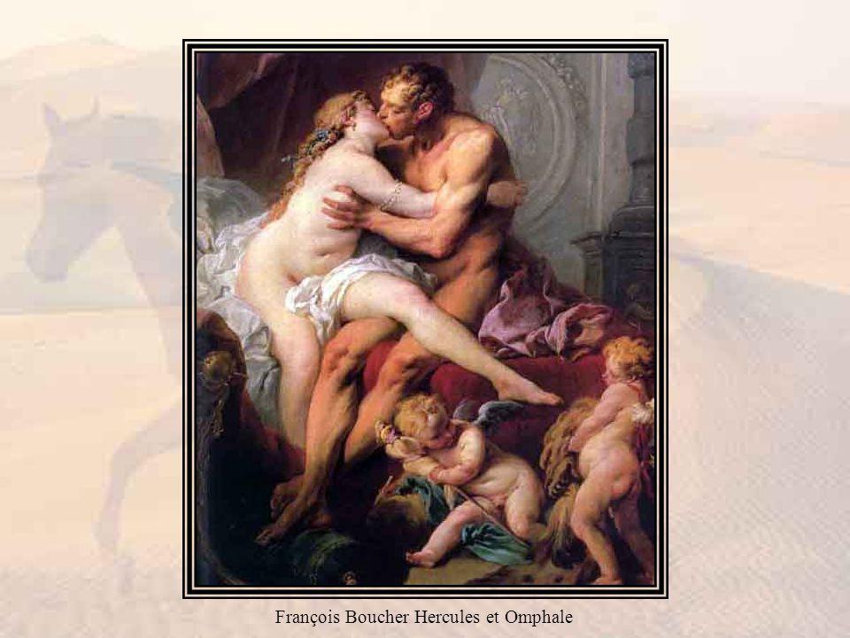 François Boucher Hercules et Omphale