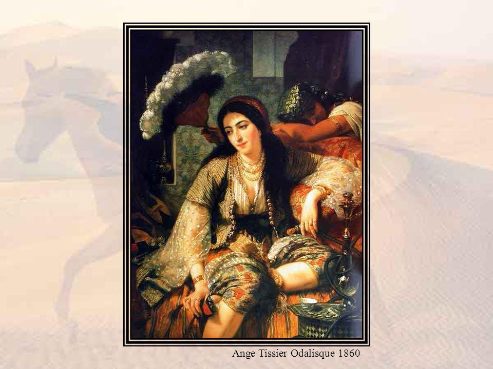 Ange Tissier Odalisque 1860