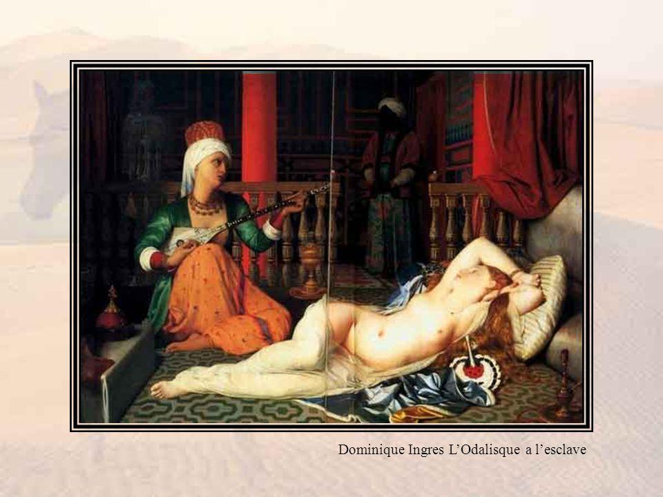 Dominique Ingres L'Odalisque a l'esclave