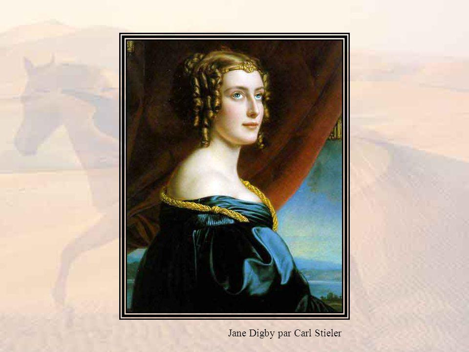 Jane Digby par Carl Stieler