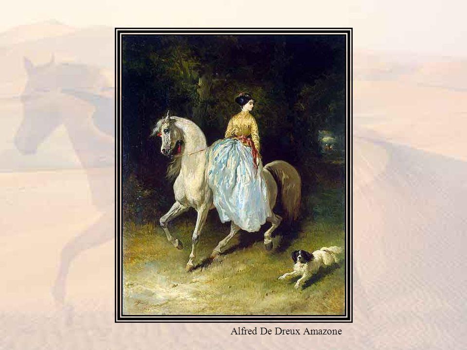 Alfred De Dreux Amazone