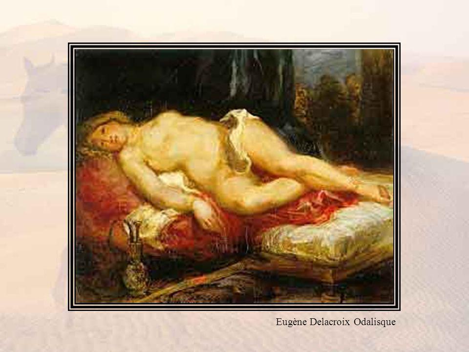 Eugène Delacroix Odalisque