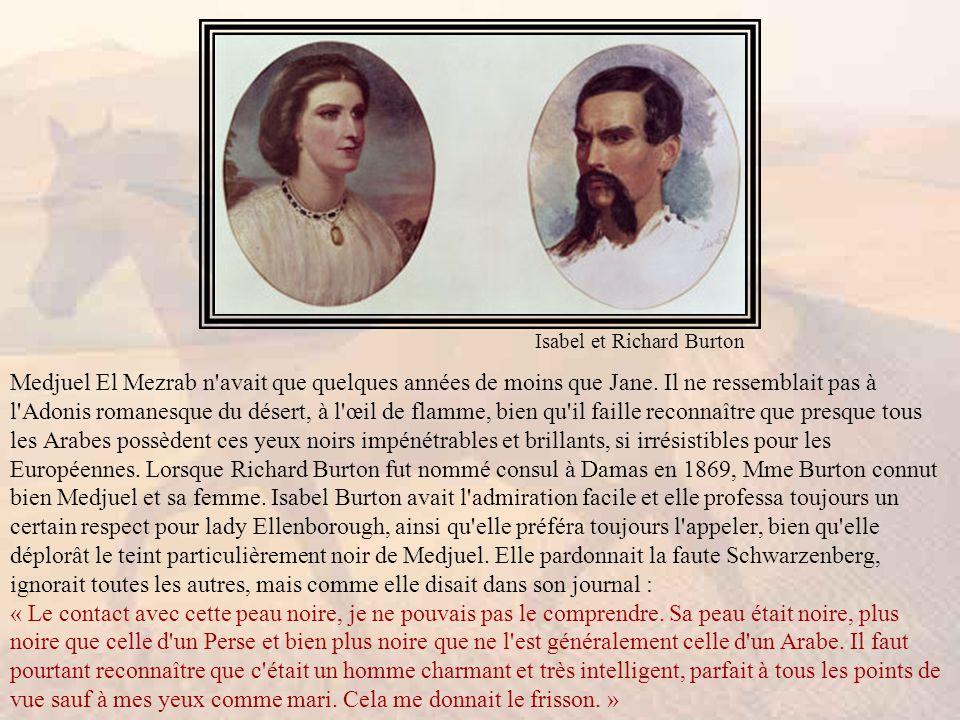 Isabel et Richard Burton
