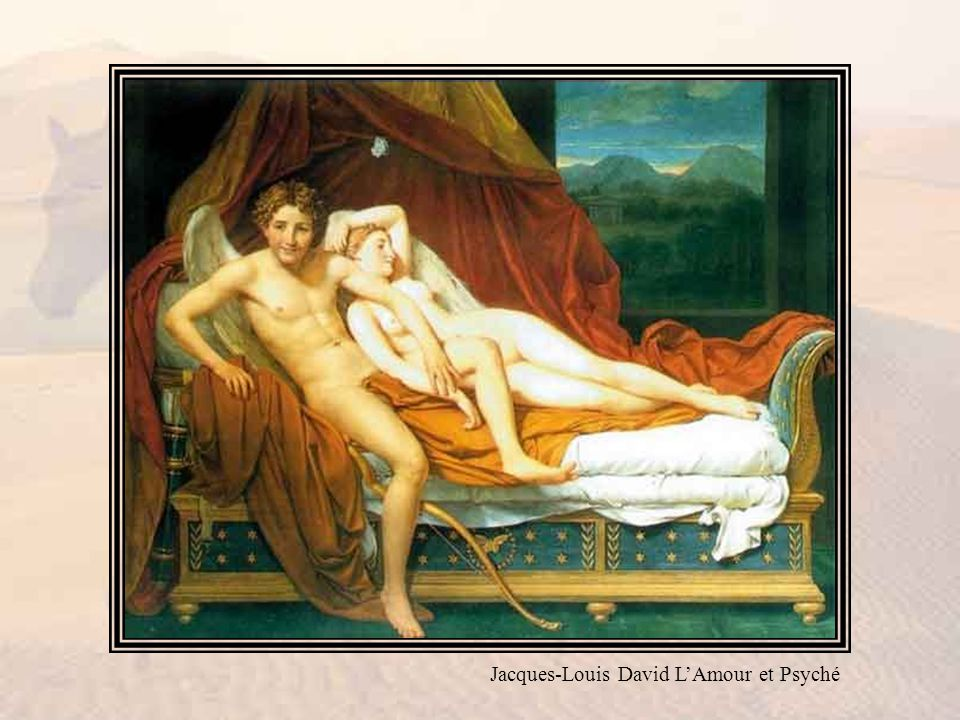 Jacques-Louis David L'Amour et Psyché