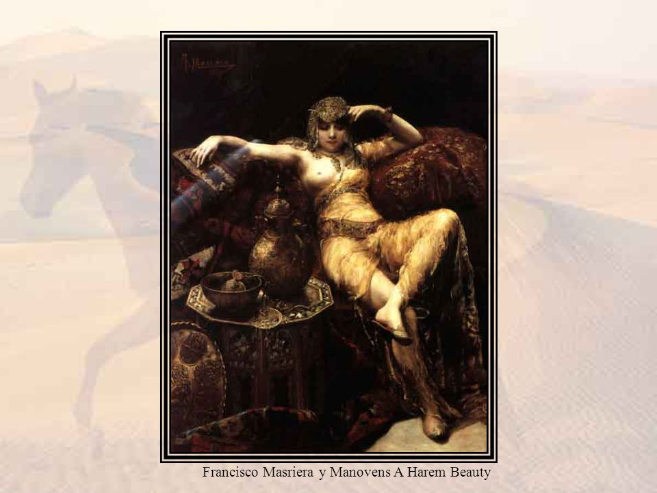Francisco Masriera y Manovens A Harem Beauty