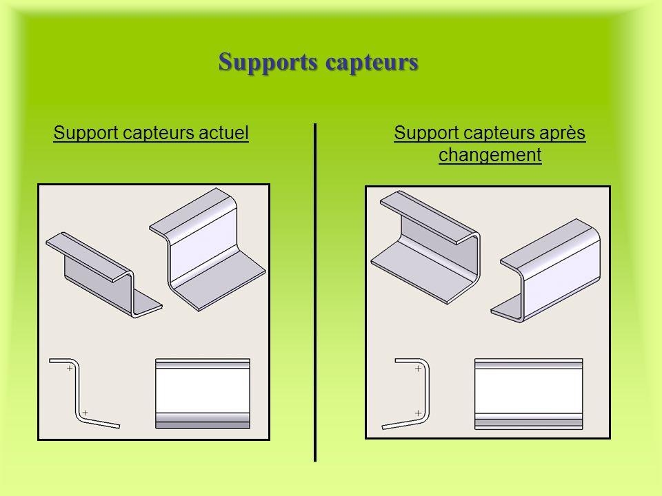 Supports capteurs Support capteurs actuel