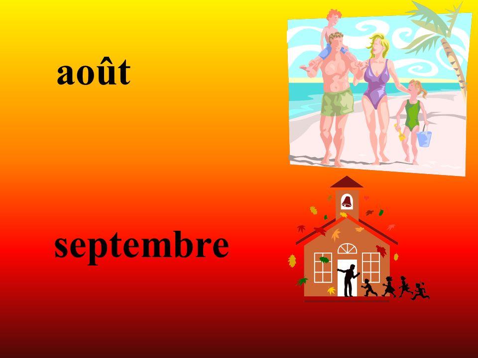 août septembre