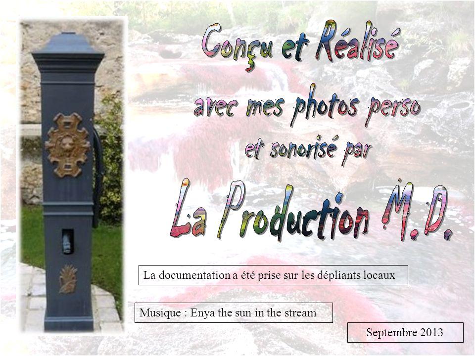 Conçu et Réalisé La Production M.D.