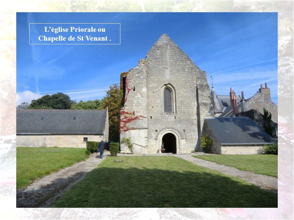 L'église Priorale ou Chapelle de St Venant .