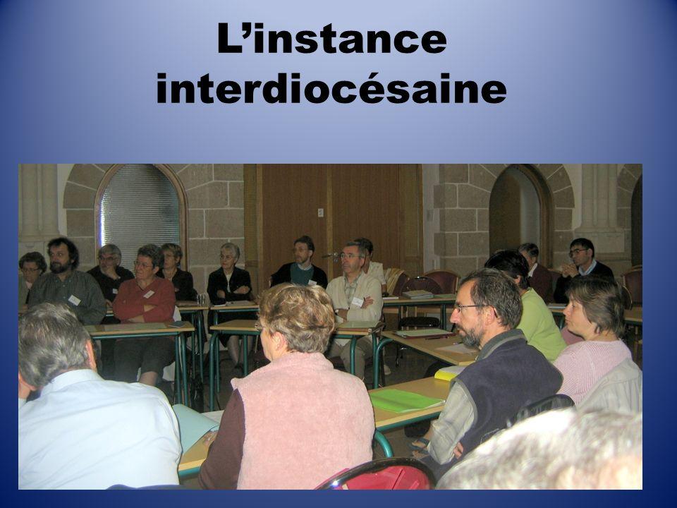 L'instance interdiocésaine
