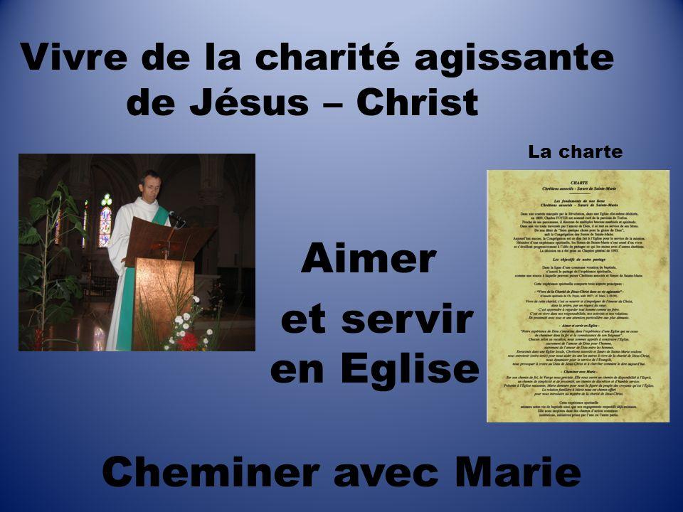 et servir en Eglise Cheminer avec Marie