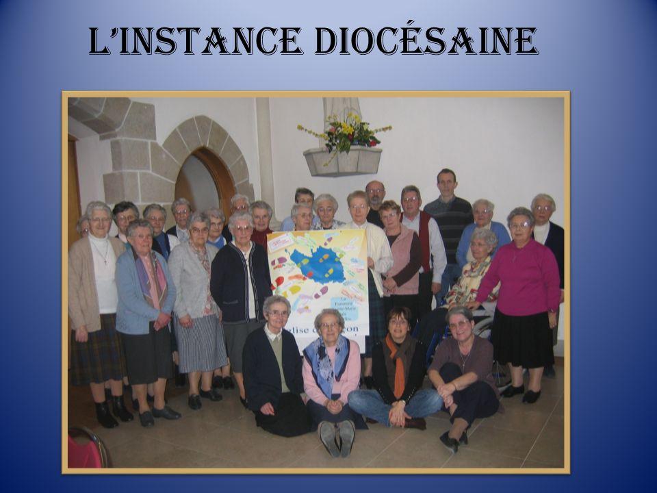 L'instance diocésaine