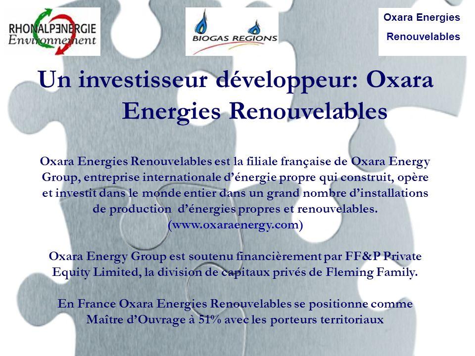 Un investisseur développeur: Oxara Energies Renouvelables