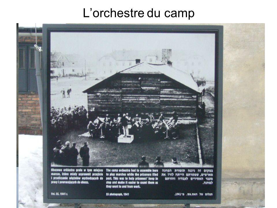 L'orchestre du camp