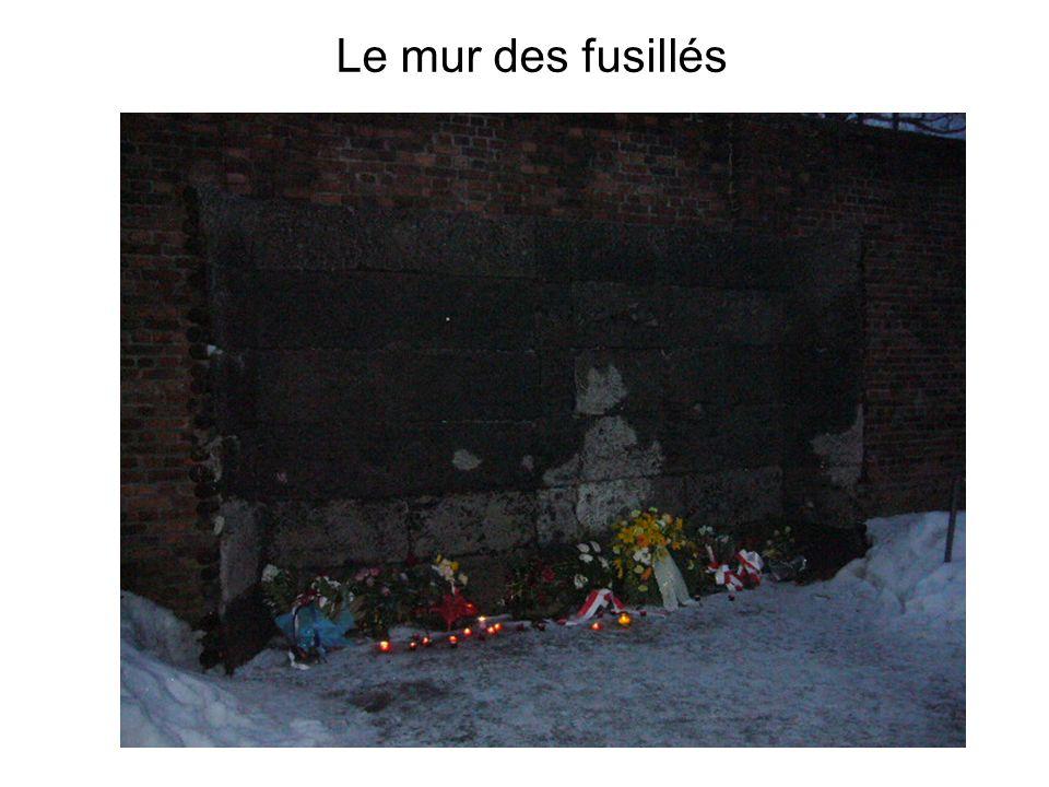 Le mur des fusillés