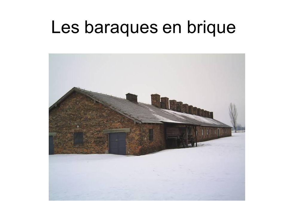 Les baraques en brique