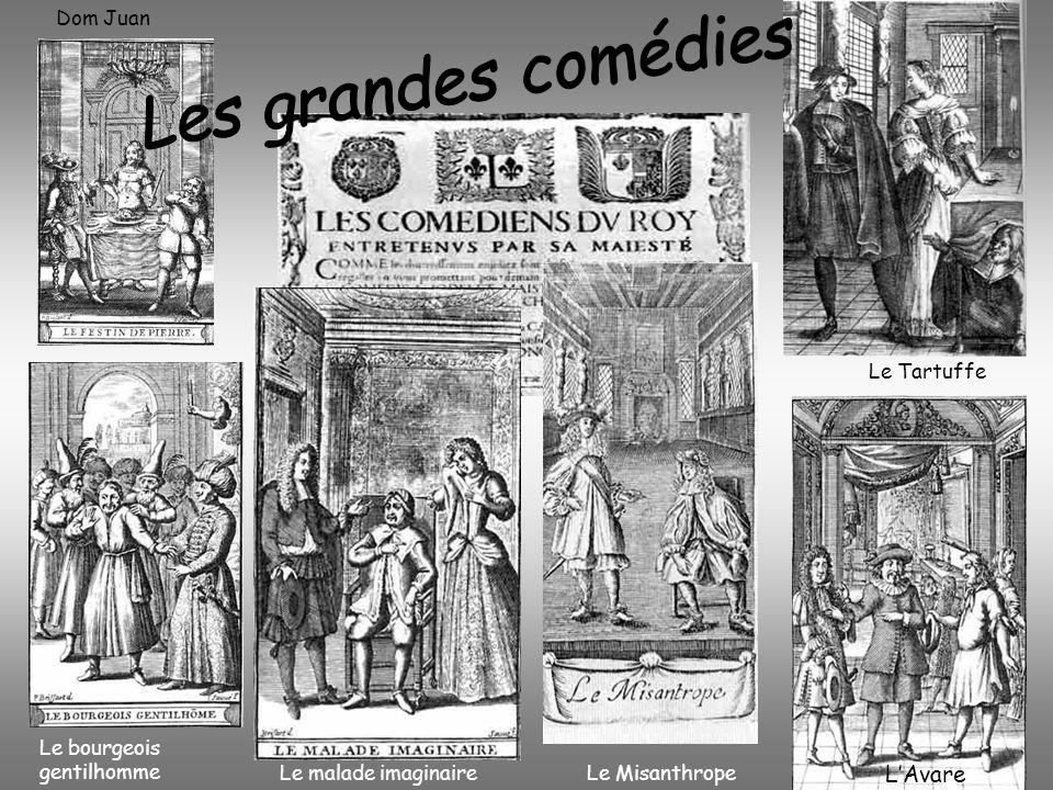 Les grandes comédies L'Avare Dom Juan Le Tartuffe