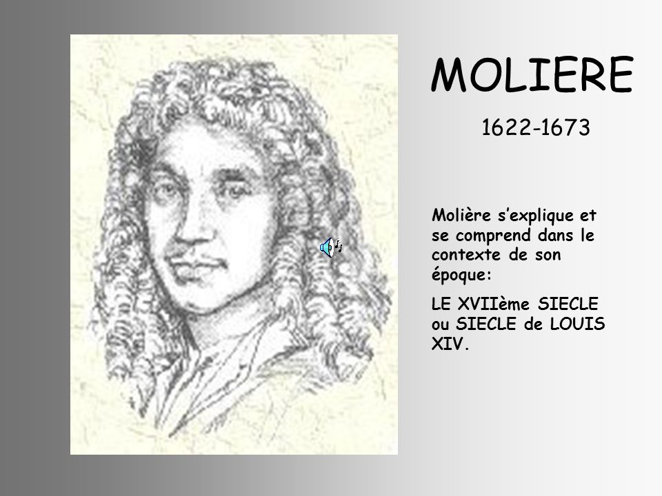 MOLIERE 1622-1673.