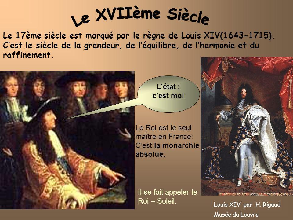 Le XVIIème Siècle