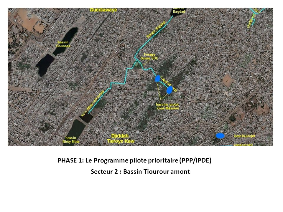 PHASE 1: Le Programme pilote prioritaire (PPP/IPDE)