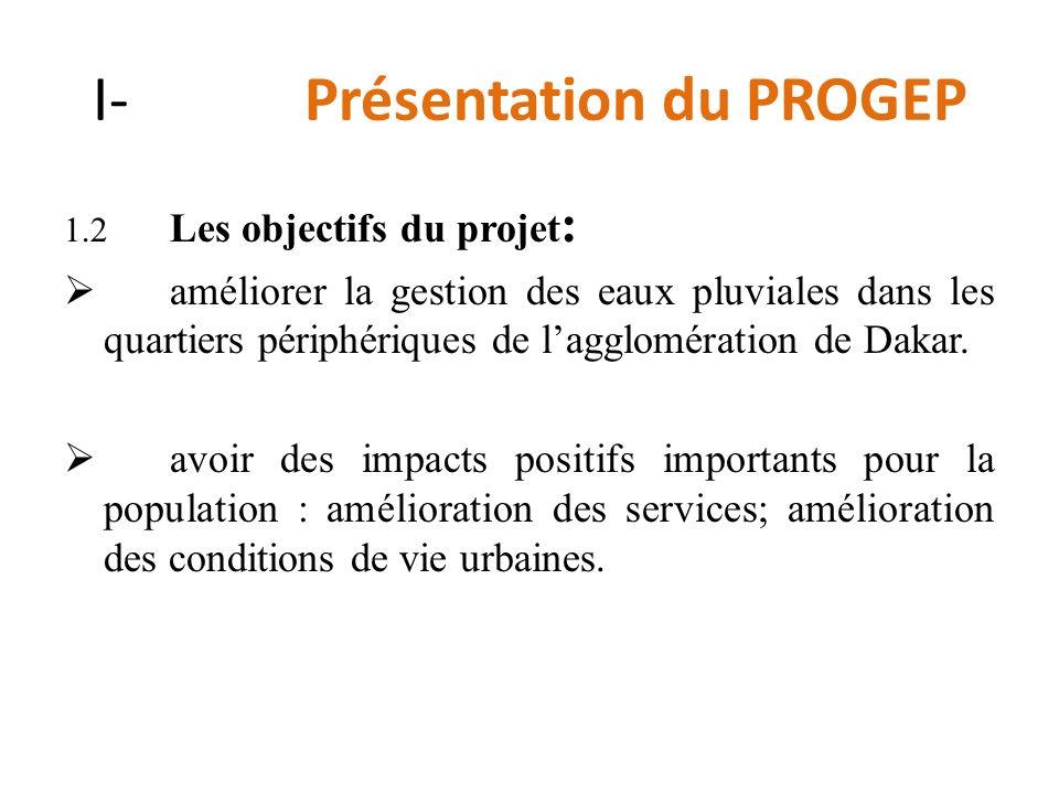 I- Présentation du PROGEP