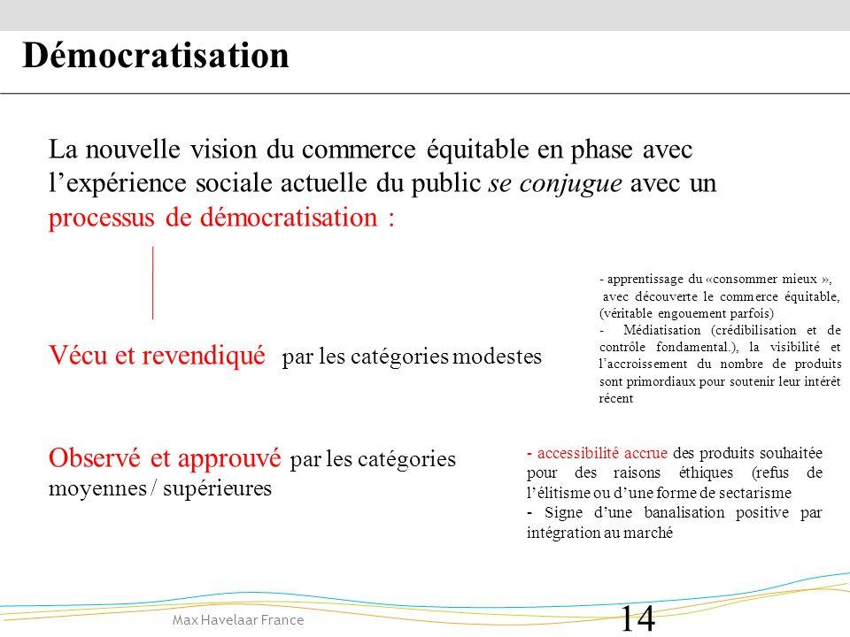 Démocratisation