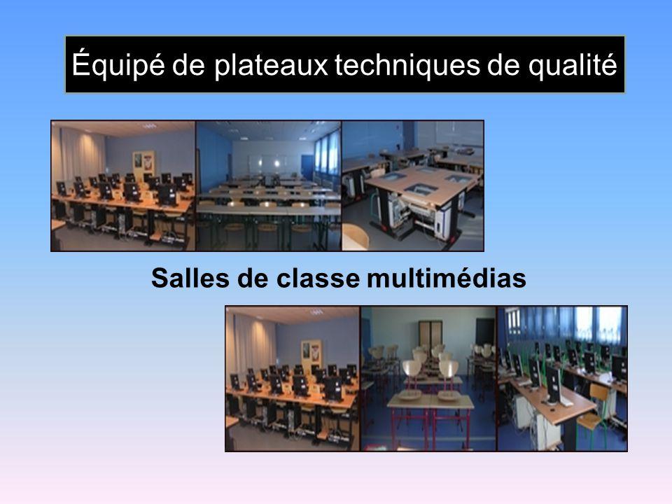 Salles de classe multimédias