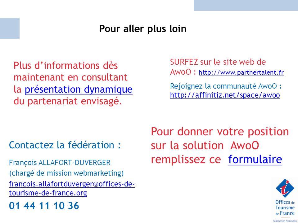 Pour aller plus loin SURFEZ sur le site web de AwoO : http://www.partnertalent.fr.