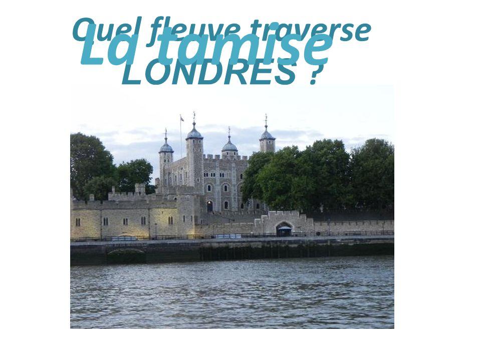 Quel fleuve traverse LONDRES