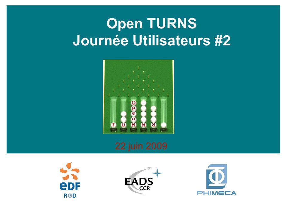 Open TURNS Journée Utilisateurs #2