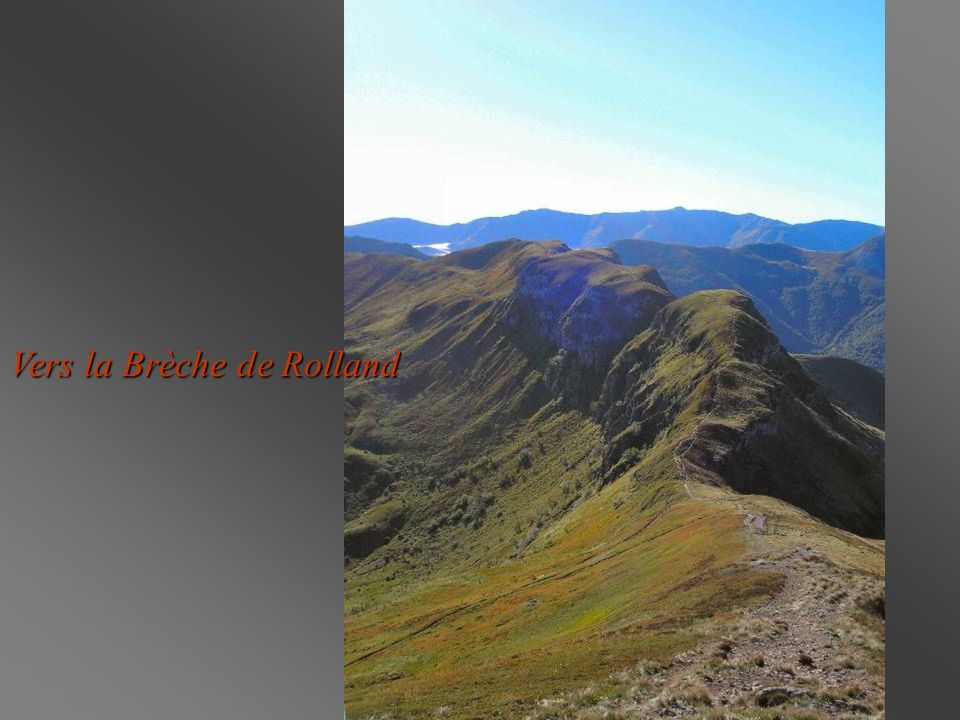 Vers la Brèche de Rolland