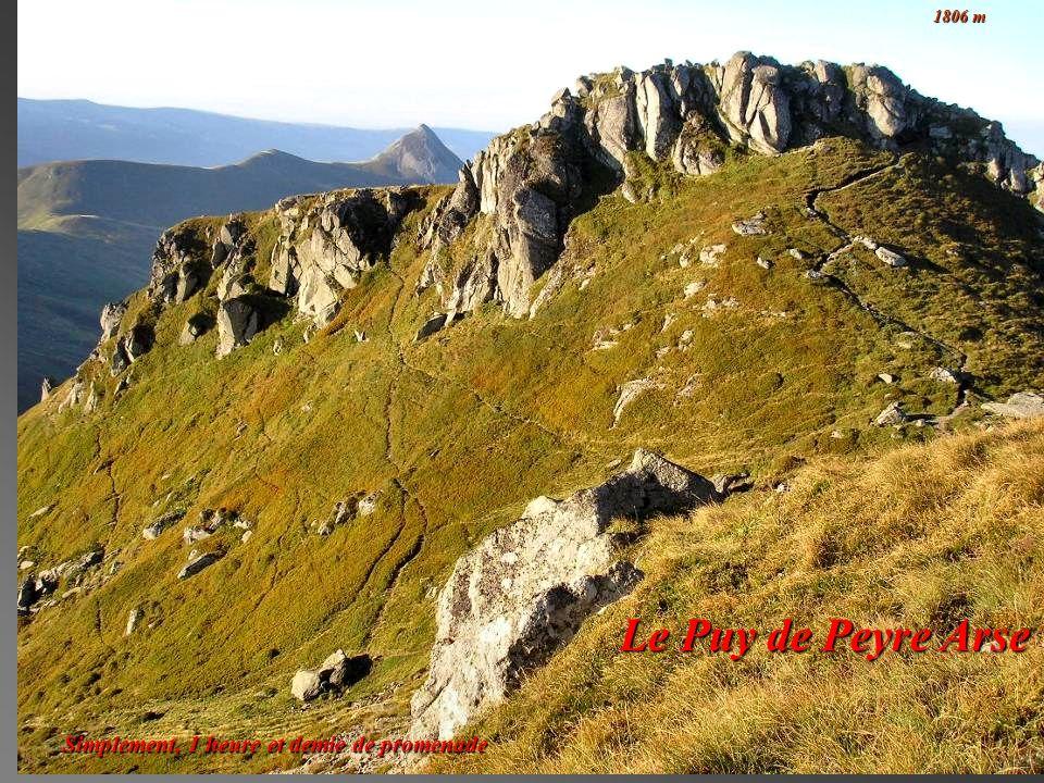 1806 m Le Puy de Peyre Arse Simplement, 1 heure et demie de promenade