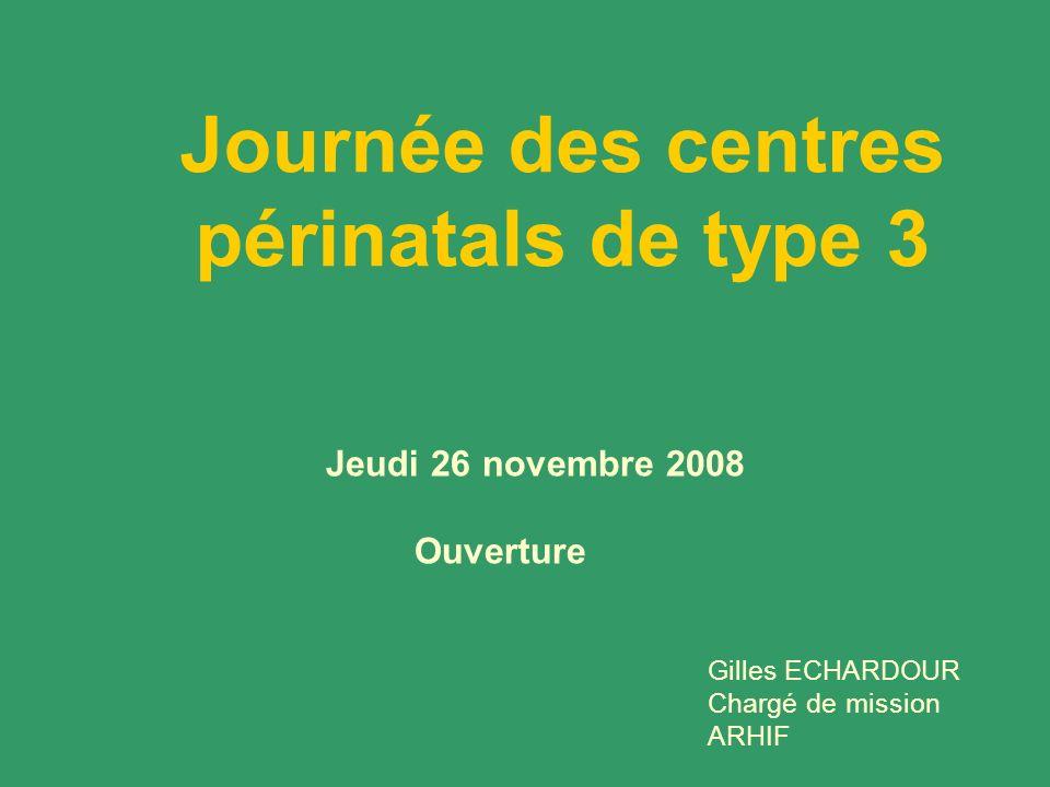 Journée des centres périnatals de type 3