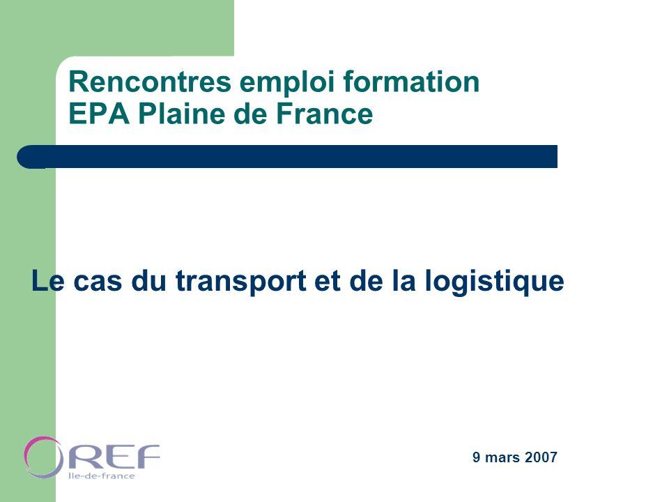 Rencontres emploi formation EPA Plaine de France