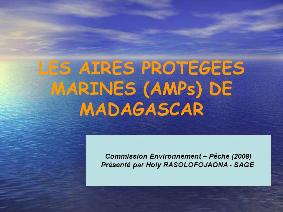 LES AIRES PROTEGEES MARINES (AMPs) DE MADAGASCAR