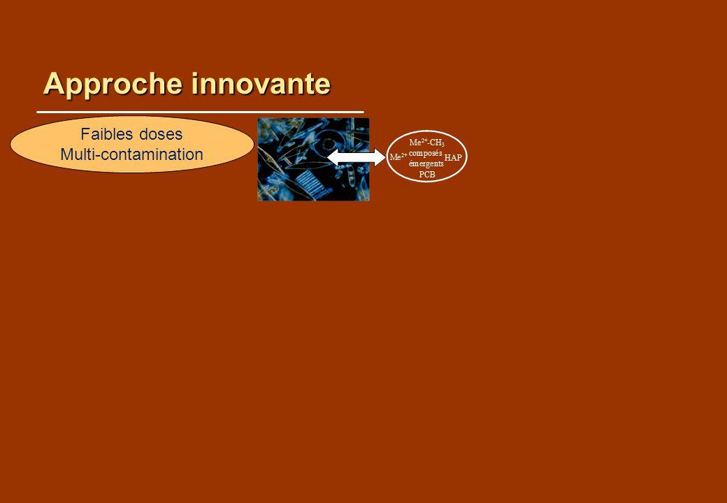 Approche innovante Faibles doses Multi-contamination